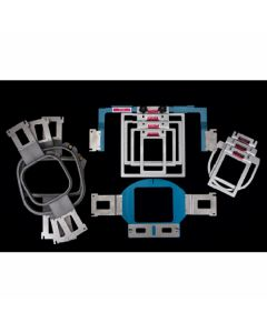 Durkee Embroidery Hoops Starter Kit for Brother 6 and 10 Needle Embroidery Machines