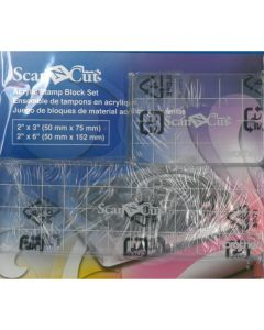 Brother ScanNCut CASTPBLS1 Acrylic Stamp Block Set