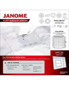 Janome Acufil Quilt Kit ASQ18b for Memory Craft 400e 500e