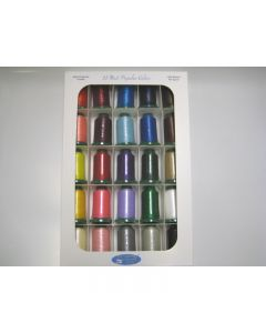 25 Basic Color Embroidery Thread Set