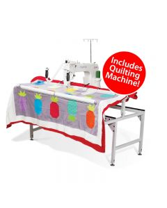 Grace Company Qnique 15R with Q-Zone Quilting Frame Combo