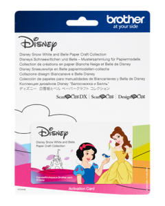 Disney Snow White and Belle Paper Craft Collection