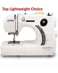 Janome Jem Gold Plus Trim & Stitch 661G Sewing Machine - Customer return