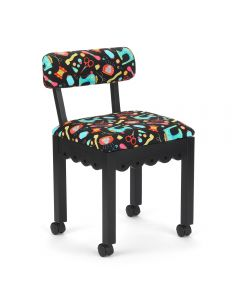 Arrow Sewing Chair Riley Blake Notions Fabric