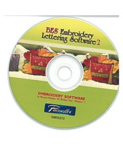 BES 2 Embroidery Lettering Software
