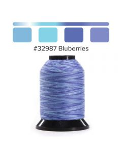Grace Finesse Variegated Quilting Thread Blueberries #2987