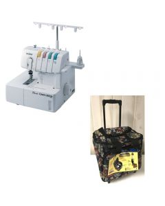 Brother 2340CV Cover Stitch Machine with Storage Trolley
