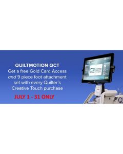 Quilter's Creative Touch 4 Automated Quilting System