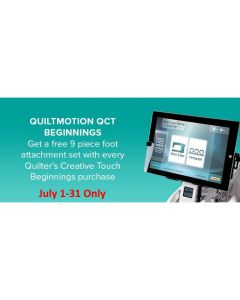Grace QCT Beginnings Automated Quilting Machine Software