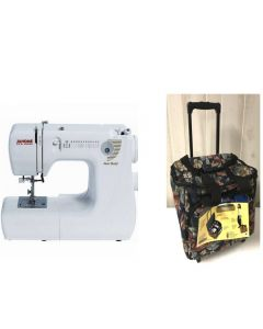 Janome Jem Gold 660 Sewing Machine + BONUS Trolley