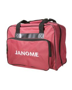 Janome Branded Sewing Machine Tote in Red