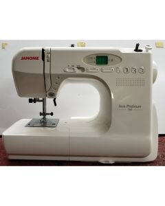 Janome Computerized Jem Platinum 760 Sewing Machine Pre-Owned