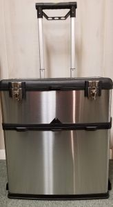 Stainless Steel Rolling Storage Box