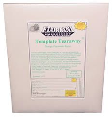 Floriani Template Tearaway Design Placement Paper