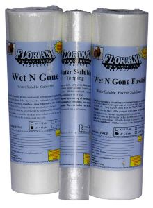 Floriani Tacky Wet N Gone Water Soluble Stabilizer