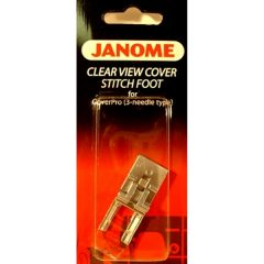Janome Clear View Cover Stitch Foot for 1000cp 1000cpx 2000cpx