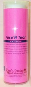 Ken's Sewing Fuse N Tear Embroidery Stabilizer