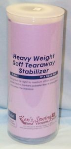 Ken's Sewing Tearaway Heavy Soft Embroidery Stabilizer