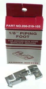 Janome Serger 1/8 Inch Piping Foot
