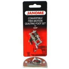 Janome 1600 Series Convertible Free Motion Quilting Foot Set