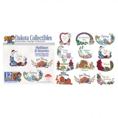 Dakota Collectibles Holidays & Seasons Embroidery Designs
