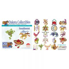 Dakota Collectibles Southwest Embroidery Designs