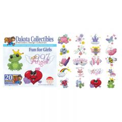 Dakota Collectibles Fun for Girls Embroidery Designs