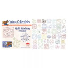 Dakota Collectibles 970316 Quilt Stitching Embroidery Designs