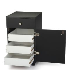 Arrow 98803 Suzi Storage Cabinet in Black