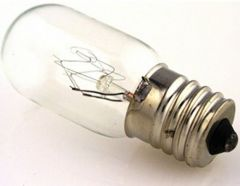 Light Bulb 15 Watt 5/8 Screw Base Clear