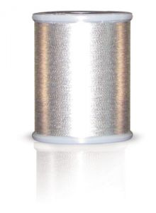 Brother MT996 Metallic Embroidery Thread Dark Silver