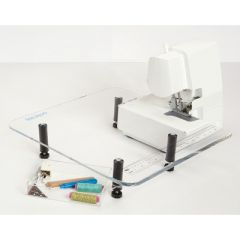 Small Serger Sewing Extension Table by Dream World