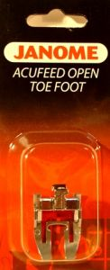 Janome Acufeed Open Toe Foot for 6600P 7700QCP
