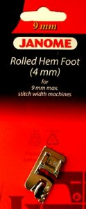 Janome 4mm Hemmer Foot 9mm