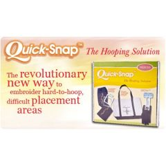 Magna Hoop Quick Snap For Commercial Embroidery Machines