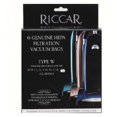 Riccar Brilliance Vacuum Cleaner Bags Type W