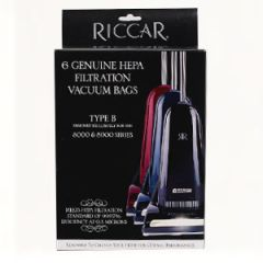 Riccar 8000 Series HEPA Vacuum Cleaner Bags Type B