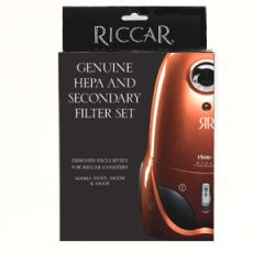 Riccar RF15 HEPA & Secondary Filter Set for 1500P, 1500M, 1500S Vacuum Cleaners