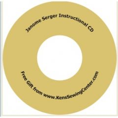 Janome Bonus Serger Instructional CD
