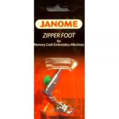 Janome Zipper Foot -High Shank