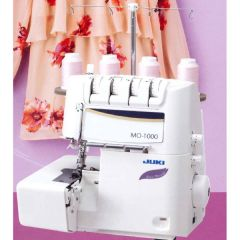 Juki MO-1000 Overlock Serger with Air Looper Threading System
