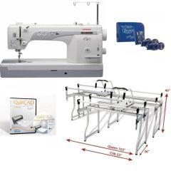 Grace Frame Metal Queen Sure Stitch with Janome 1600P-QC