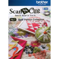Brother Scan N Cut Quilt Pattern Collection for CM550DX and CM100DM