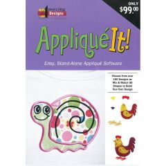 Amazing Designs Applique It Embroidery Software