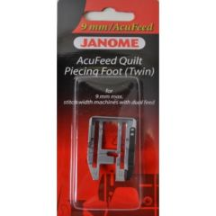 Janome AcuFeed 1/4 Inch Quilt Piecing Foot (Twin)