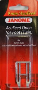 Janome Acufeed Open Toe Foot 9mm