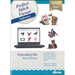 DIME Designs in Machine Embroidery Perfect Stitch Viewer Software #3