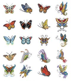 DIME Inspiration Collection #8 Butterfly Majesty