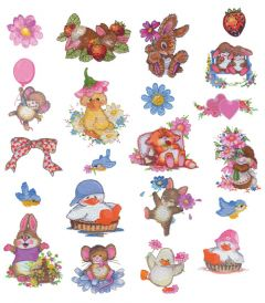 DIME Inspiration Collection Embroidery Designs #36 Image By Design - Cutes