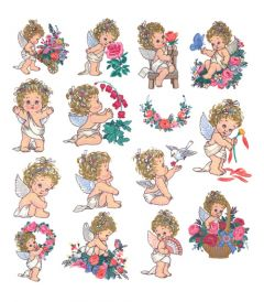 DIME Inspiration Collection Embroidery Designs Morehead #50 Cherished Angels